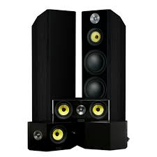 speakers home. signature series hi-fi 5.0 home theater speaker system with bipolar speakers r