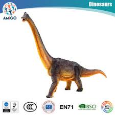 awesome plastic brachiosaurus dinosaur filled with cotton toys for promotional collectional gifts
