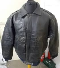 kudsak men s type g 2 er thick leather jacket s 52 2 5 kg