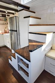 tiny house sink. Tiny House On Wheels W/ Big Kitchen And Double Sink Vanity Living Homes Custom THOW With Full 0012