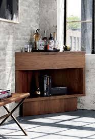 view in gallery corner bar from cb2 bar corner furniture