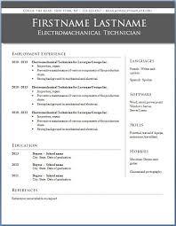 Resume Template Microsoft Word 2010 13 Sample Format Resumes On