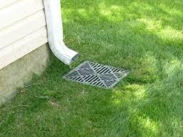 underground gutter drainage. Standing Water In Underground Pipe W/French Drain? Gutter Drainage