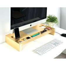 wooden monitor stand diy in desk monitor bourgeois wood monitor stand desk mounted monitor holder desk