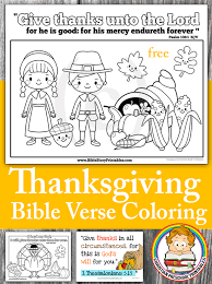 Thanksgiving Bible Coloring Pages The Crafty Classroom