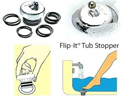 bathtub drain stopper replacement how to replace bathtub drain stopper bathtub stopper replacement flip it tub