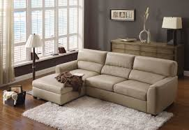 companies wellington leather furniture promote american. Wonderful Leather Sofa Designs In Beige Color : Impressive LShaped Sectional With White Shag Rug And Brown Wall Painting Also Wooden Companies Wellington Furniture Promote American H