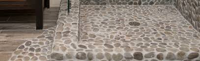 Contemporary Stone Floor Tiles Pebbles Stones A Throughout Perfect Ideas
