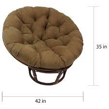pampasan chair. International Caravan Bali 42-Inch Rattan Papasan Chair With Cushion - Free Shipping Today Overstock.com 14942087 Pampasan O