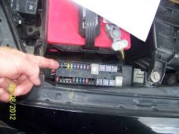 electrical problem 2001 infiniti i30 no power going to radio thumb