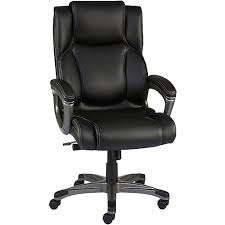 black leather office chair. Delighful Leather Staples Washburn Bonded Leather Office Chair Black Rollover Image To Zoom  In Httpswwwstaples3pcoms7is In Black Chair S