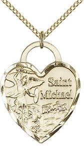 14kt gold filled st michael the