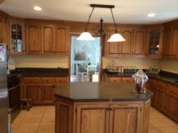 Has Been The Most Daunting: How To Paint The Honey Oak Cabinets And Island  AND Extensive Trim In Our Kitchen For A More Updated Style That Matches Our  ...