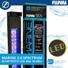 Fluval Sea Marine Reef 3 0 Spectrum Led Light Fixture Fluval Sea Marine 3 0 Spectrum Led W Bluetooth 46w 91 122cm