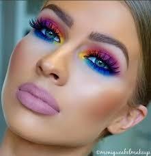 the eye colors are sooooo 80 s the lipstick looks like mortuary makeup