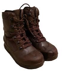 British Army Haix Gore Tex Mod Brown Boots