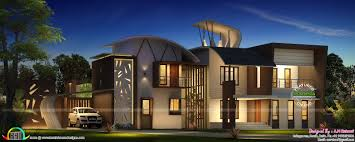 Small Picture Ultra Modern Home Design Of 2016 Kerala Home Design And Floor