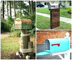 mailbox post plans.  Mailbox Diy Mailbox Post Plans Makeovers To Boost Curb Appeal  Cover Intended