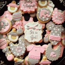 Decorating Ideas For Baby Shower Cookies