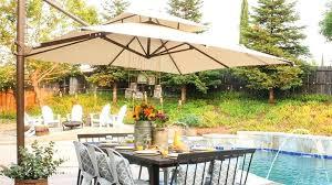 offset patio umbrellas top best outdoor reviewed umbrella base diy