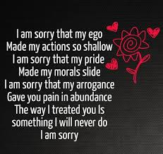Im Sorry Quotes For Her Stunning Im Sorry Poem For Her Cute Love Quotes For Her Pinterest Poem