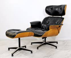 Eames Chair With Ottoman Plycraft Lounge Antiques Ebay