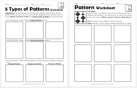Pattern Worksheets - Create Art with ME
