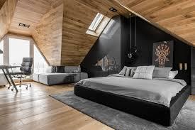 Raca Architekci Rebuild the Attic to Modern Bedroom