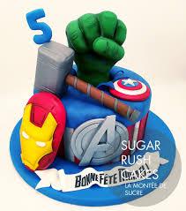 Avengers Birthday Cake Avengers Birthday Cake Sugar Rush Cakes