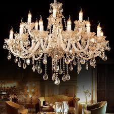 E12 3 Lichter Vintage Kristall Kronleuchterholz Retro Lampe