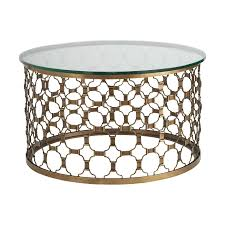 Awesome ... Coffee Table Fascinating 30 Inci Round Wood And Metal Uk Naomi 30inch  Elegant Gold Top Gla