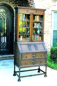 bookcases bookcase secretary desk antique with oak lovely tables mahogany