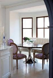 Elegant Curved Dining Bench  Med Art Home Design PostersCurved Bench Dining