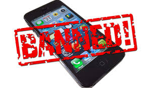 Image result for mobile phone ban