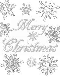 Free Printable Christmas Coloring Pages For