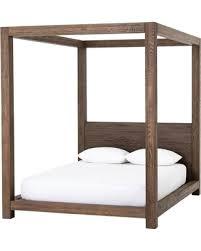 Sweet Winter Deals on Williams Wood King Platform Canopy Bed Frame