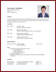 Gallery Of Ojt Sample Resume Objectives For Students Objectives In
