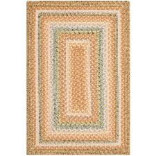 safavieh braided tan multi 3 ft x 4 ft area rug brd314a 24 the home depot
