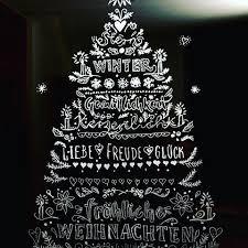 Unsere Weihnachtsdeko An Der Balkontüre Gemalt Mit