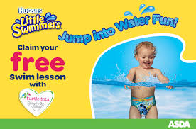 Baby Swimming Huggies Little Swimmers