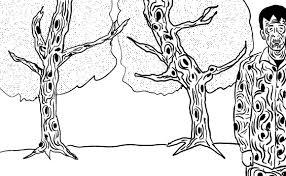 禁断テク現役漫画家が教える絶対に真似をしてはならない木や葉っぱの