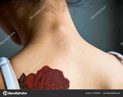 спины татуировка женщины стоковое фото Rawpixel 193326500