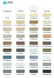 Laticrete Latasil Color Chart Irfandiawhite Co