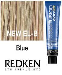 Redken Color Fusion Extra Lift Blue El B Hair Color Blue