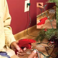 Finding Blown Christmas Lights Use A Christmas Light Tester To Check Holiday Lights