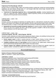 63 Resume Mechanical Engineering 28 Sample Resume For