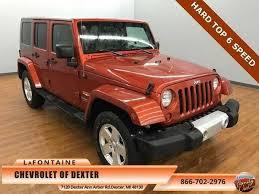 jeep wrangler unlimited in orange used burnt orange jeep wrangler unlimited mitula cars