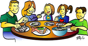 Image result for free dinner table clip art
