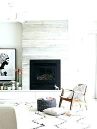 wall fireplace ideas feature wallpaper for