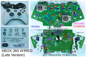 xbox 360 wireless controller circuit board diagram images xbox xbox 360 controller diagram parts usb